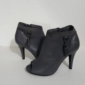 Gray, Cato heeled booties